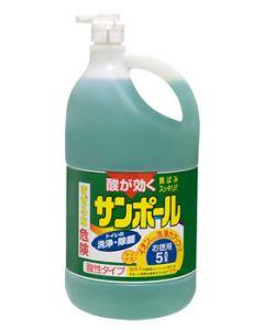 金鳥 KINCHO キンチョウ サンポール K (5L) トイレ用 洗剤