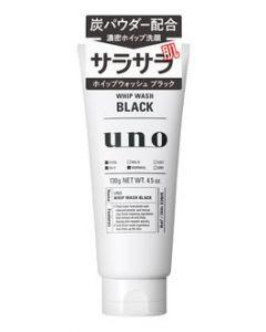 資生堂 uno ウーノ ホイップウォッシュ ブラック (130g) 洗顔フォーム
