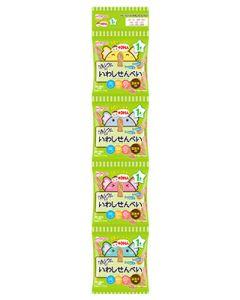 和光堂 1歳からのおやつ +DHA いわしせんべい4連 1歳頃から (6g×4袋) ベビーおやつ ※軽減税率対象商品