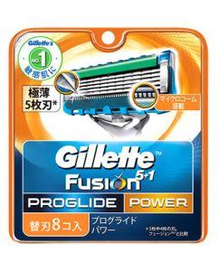 P&G ジレット プログライド フレックスボール パワー 替刃 (8個入) カミソリ 髭剃り 【P&G】
