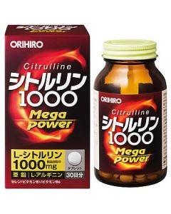 オリヒロ シトルリン Mega Power 1000 (240粒) ※軽減税率対象商品