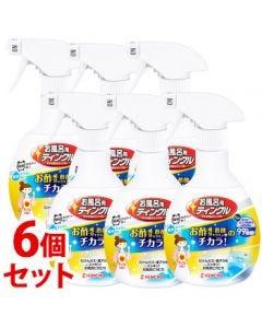 《セット販売》 金鳥 KINCHO キンチョウ お風呂用 ティンクル すすぎ節水タイプW 本体 (400mL)×6個セット
