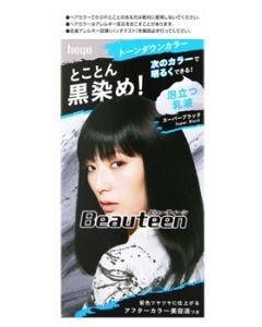 ホーユー ビューティーン トーンダウンカラー スーパーブラック (1セット) 髪色もどし ヘアカラー 【医薬部外品】