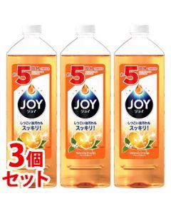 【特売セール】 《セット販売》 P&G ジョイコンパクト バレンシアオレンジの香り 特大 つめかえ用 (770mL)×3個セット 詰め替え用 【P&G】