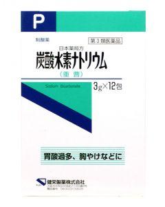 【第3類医薬品】健栄製薬 日本薬局方 炭酸水素ナトリウム (3g×12包)