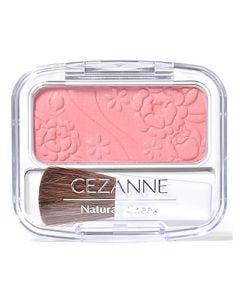 セザンヌ化粧品 ナチュラルチークN 01 ピーチ系ピンク (4g) パウダーチーク