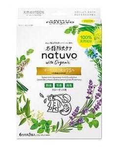 アース製薬 衣類防虫ケア natuvo ナチューヴォ クローゼット用 (3個) 衣類用防虫剤
