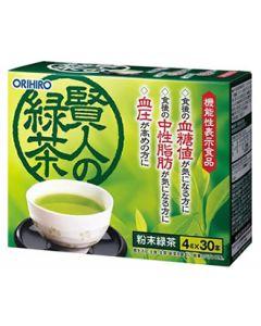 オリヒロ 賢人の緑茶 (4g×30本) 機能性表示食品 ※軽減税率対象商品