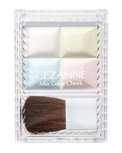 セザンヌ化粧品 セザンヌ ミックスカラーチーク 10 ハイライト (1個) パウダーチーク