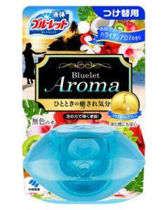 小林製薬 液体ブルーレットおくだけ アロマ 南国リゾートハワイアンアロマの香り つけかえ用 (70mL) 付け替え用 水洗トイレ用 芳香洗浄剤