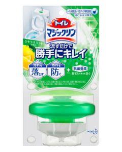 花王 トイレマジックリン 流すだけで勝手にキレイ シトラスミントの香り 本体 (80g) トイレ用洗剤