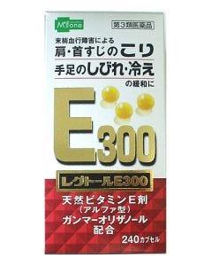 【第3類医薬品】メディズワン 小林薬品工業 レグトールE300 (240カプセル) 肩・首筋のこり 手足のしびれ・冷え