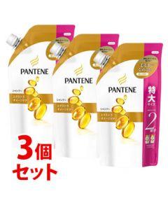 【特売セール】 《セット販売》 P&G パンテーン エクストラダメージケア シャンプー 特大サイズ つめかえ用 (660mL)×3個セット 詰め替え用 【P&G】