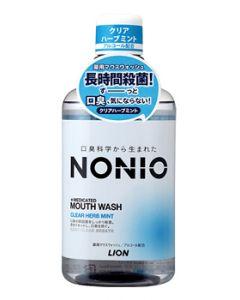 【特売セール】 ライオン NONIO ノニオ マウスウォッシュ クリアハーブミント (600mL) 薬用マウスウォッシュ 洗口液 【医薬部外品】