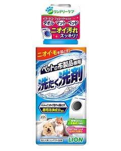 ライオン ペットの布製品専用 洗たく洗剤 本体 (400g) 詰め替え用 洗濯洗剤
