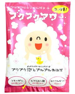 ヘルスビューティー ブクブクアワー バブルバス シャボンフローラルの香り (40g) 泡 入浴剤