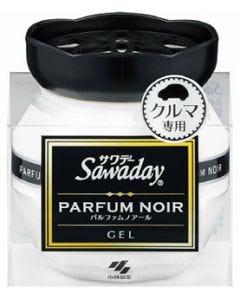小林製薬 サワデー クルマ専用ゲル パルファムノアール (90g) 車用 消臭・芳香剤 Sawaday