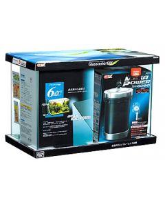【◆】 ジェックス グラステリア 600 6点セット (1セット) 水槽セット メガパワー6090 観賞魚用品