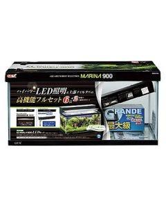 ジェックス マリーナ900 LEDセット (1セット) 水槽セット 上部式フィルター 観賞魚用品