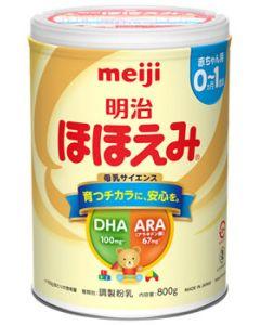 明治 ほほえみ 大缶 (800g) 0ヵ月~1歳頃 乳児用粉ミルク 調製粉乳