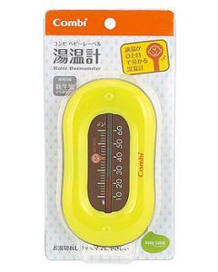 コンビ ベビーレーベル 湯温計 レーベルピスタチオ (1個) 新生児から ベビー用お風呂用品