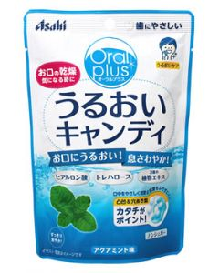アサヒ オーラルプラス うるおいキャンディ アクアミント味 (57g) 介護用 口腔ケア用品 ※軽減税率対象商品