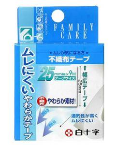 白十字 ファミリーケア FC 不織布テープ 25mm×9m (1個)
