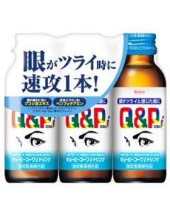 興和新薬 キューピーコーワiドリンク (100mL×3本) 眼精疲労 疲労回復 【指定医薬部外品】