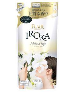 【特売セール】 花王 フレア フレグランス イロカ ネイキッドリリーの香り つめかえ用 (480mL) 詰め替え用 柔軟剤 IROKA