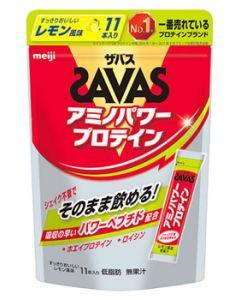 明治 ザバス アミノパワープロテイン レモン風味 (4.2g×11本) スティックタイプ プロテイン ※軽減税率対象商品