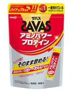 明治 ザバス アミノパワープロテイン パイナップル風味 (4.2g×11本) スティックタイプ プロテイン ※軽減税率対象商品