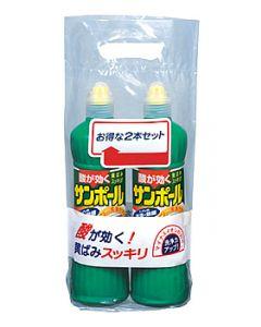 金鳥 KINCHO キンチョウ サンポール (500mL×2本) トイレ用洗剤 酸性タイプ