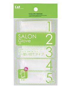 貝印 SALON MODE 手袋 HC-0624 (5回分) 使い捨てタイプ ヘアケア用品