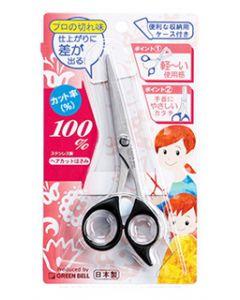 グリーンベル ステンレス製 ヘアカットはさみ (1個) 散髪 ハサミ G-5010