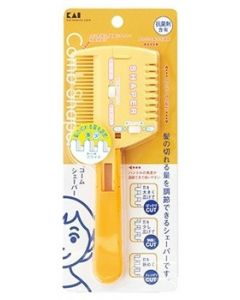 貝印 コームシェーパー 切替式 KQ3049 (1個) 散髪用品 コームシェーバー