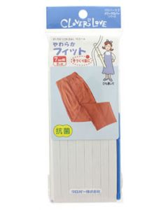 クロバー クロバーラブ メリークロバーシリーズ ソフトゴムL 10コール 67-753 (7mm幅×8m) ゴム紐