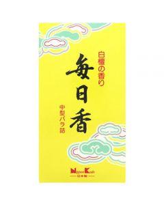 日本香堂 毎日香 中型バラ詰 (約150g) 線香