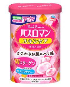 アース製薬 バスロマン スキンケア Wコラーゲン (600g) 入浴剤 【医薬部外品】