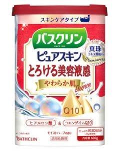 バスクリン ピュアスキン やわらか肌 (600g) 入浴剤