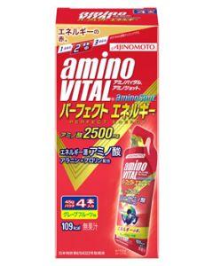 味の素 アミノバイタル アミノショット パーフェクトエネルギー (45g×4本) ゼリータイプ アミノ酸2500mg AMINO VITAL ※軽減税率対象商品