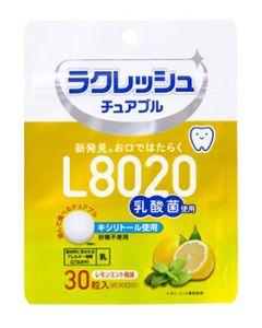 ジェクス L8020乳酸菌 ラクレッシュ チュアブル レモンミント風味 約30日分 (1000mg×30粒) ※軽減税率対象商品