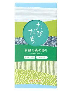 カメヤマ たびだち 新緑の森の香り (約90g) 線香