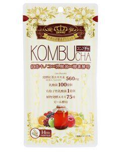 ユーワ KOMBUCHA (42粒) コンブチャ ダイエットサプリメント ※軽減税率対象商品