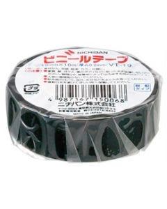 ニチバン ビニールテープ VT-196 黒 (1個) 電気絶縁用 ポリ塩化ビニル粘着テープ