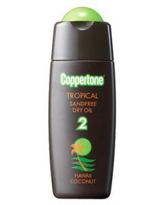 大正製薬 コパトーン トロピカル サンドフリー ハワイ SPF2 (120mL) 日焼け用オイル サンオイル