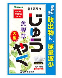 【第3類医薬品】山本漢方 日本薬局方 ジュウヤク (5g×48包) じゅうやく