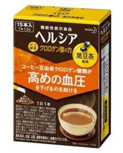 花王 ヘルシア クロロゲン酸の力 黒豆茶風味 (1.5g×15本) 粉末飲料 機能性表示食品 【送料無料】 ※軽減税率対象商品