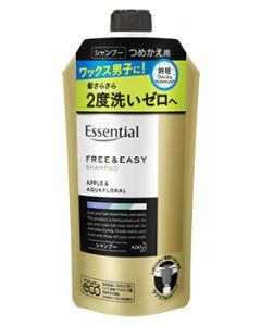 花王 エッセンシャル フリー&イージー シャンプー つめかえ用 (300mL) 詰め替え用 ノンシリコン メンズ シャンプー