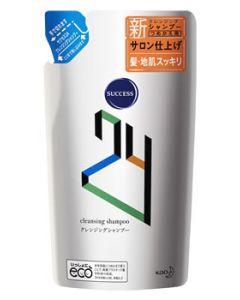 【特売セール】 花王 サクセス24 クレンジングシャンプー つめかえ用 (280mL) 詰め替え用 サクセス