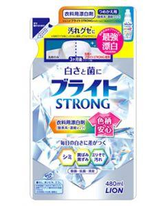 ライオン ブライト ストロング STRONG つめかえ用 (480mL) 詰め替え用 衣料用漂白剤